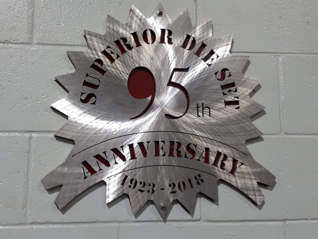 95th anniversary of Superior Die Set Corporation
